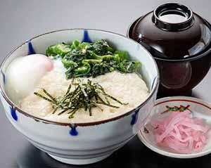 ねばねば丼(味噌汁・漬物付)