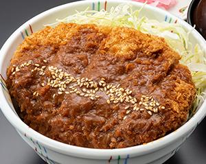 味噌カツ丼(味噌汁・漬物付)