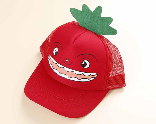 トマトーナの帽子