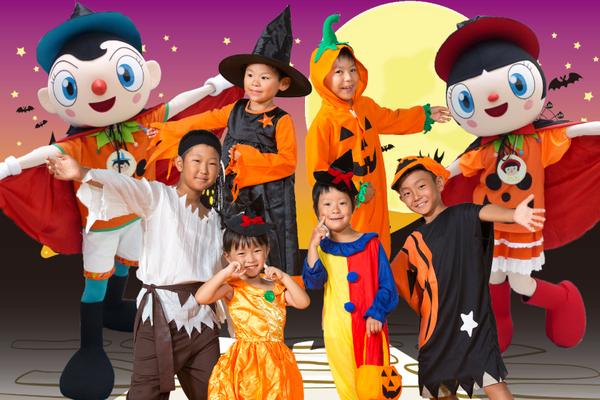 全身ハロウィン仮装で来園のチビッコは入園無料!